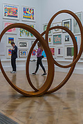 Natural Pearl by Nigel Hall £189500 - The Royal Academy's 249th Summer Exhibition - co-ordinated by Eileen Cooper RA. The hanging committee will consist of Royal Academicians Ann Christopher, Gus Cummins, Bill Jacklin, Fiona Rae, Rebecca Salter and Yinka Shonibare. This year, the Architecture Gallery will be curated by Farshid Moussavi RA. The exhibition, sponsored by Insight Investment is open to the public 13 June – 20 August 2017. London 07 June 2017.