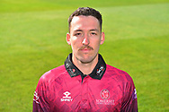 Head shot of Paul van Meekeren in the Royal London One-Day Cup kit during the 2019 media day at Somerset County Cricket Club at the Cooper Associates County Ground, Taunton, United Kingdom on 2 April 2019