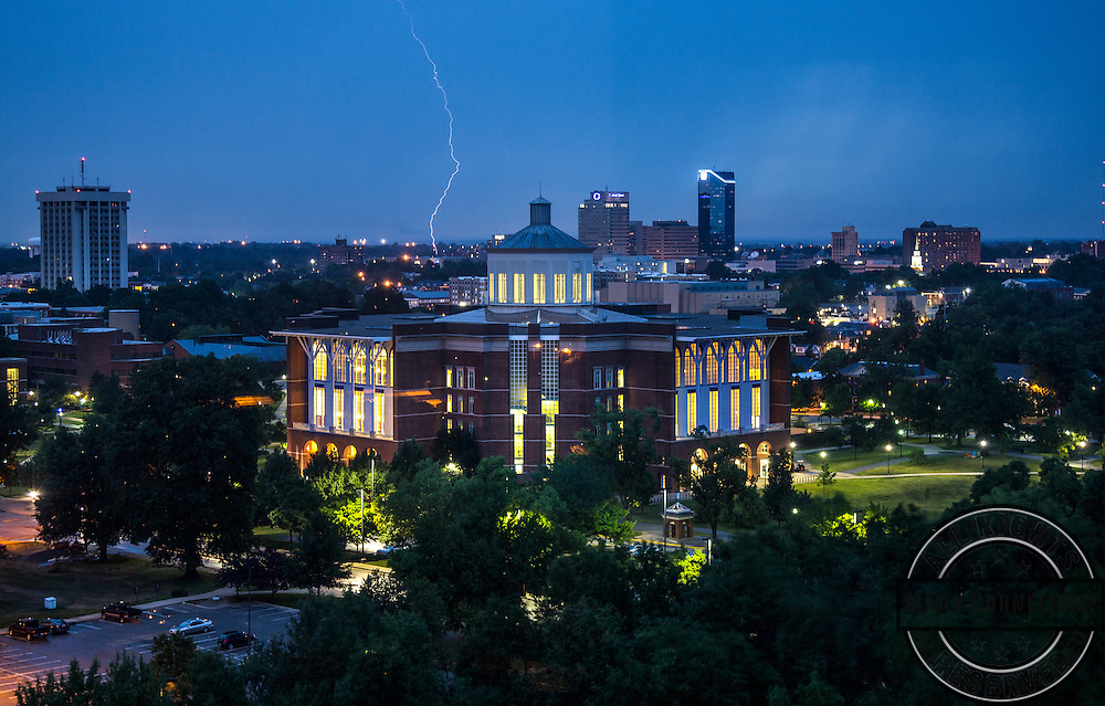 W.T.Young library overhead on Thursday June 19, 2014. Photo by Mark Cornelison