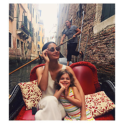 """Lily Aldridge releases a photo on Instagram with the following caption: """"Seeing the sights \ud83c\uddee\ud83c\uddf9"""". Photo Credit: Instagram *** No USA Distribution *** For Editorial Use Only *** Not to be Published in Books or Photo Books ***  Please note: Fees charged by the agency are for the agency's services only, and do not, nor are they intended to, convey to the user any ownership of Copyright or License in the material. The agency does not claim any ownership including but not limited to Copyright or License in the attached material. By publishing this material you expressly agree to indemnify and to hold the agency and its directors, shareholders and employees harmless from any loss, claims, damages, demands, expenses (including legal fees), or any causes of action or allegation against the agency arising out of or connected in any way with publication of the material."""