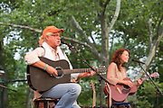 Arlo Guthrie and his daughter Sarah Lee Guthrie.