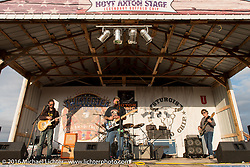 Charlie Brechtel plays the Hoyt Axton stage at the Buffalo Chip during the Annual Sturgis Black Hills Motorcycle Rally.  SD, USA.  August 6, 2016.  Photography ©2016 Michael Lichter.