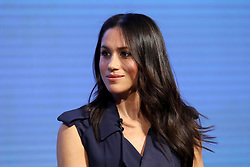 Meghan Markle during the first Royal Foundation Forum in central London.