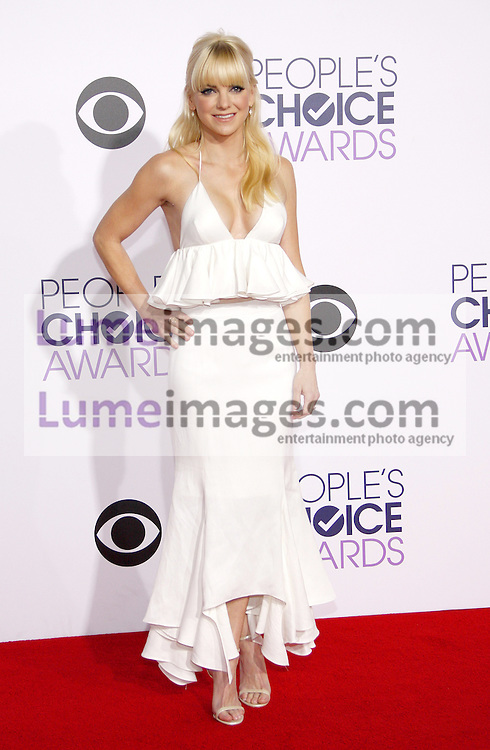 Anna Faris at the 41st Annual People's Choice Awards held at the Nokia L.A. Live Theatre in Los Angeles on January 7, 2015. Credit: Lumeimages.com