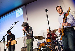 DaBlaBlues perform during Slovenian Disabled Sports personality of the year 2018 event, on December 11, 2018 in Austria Trend Hotel, Ljubljana, Slovenia. Photo by Vid Ponikvar / Sportida