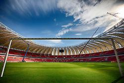 Gramado do Beira Rio em 31 de fevereiro de 2014. O Estádio Beira Rio, que receberá jogos da Copa do Mundo de Futebol 2014, tem mais 97% da sua reforma concluída e re-inauguração agendada para 04 de abril de 2014. FOTO: Jefferson Bernardes/ Agência Preview