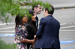 Kim Kardashian West leaves the West wing of the White House after meeting with officials, including senior adviser Jared Kushner, to discuss prison reform on May 30, 2018 in Washington, DC. Photo by Olivier Douliery/ Abaca Press
