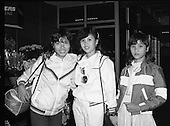 1985 - Vietnamese Refugees Arrive At Dublin Airport