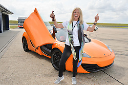 KELLY COOPER-BARR at the Stride Foundation Track Day held at the bedford Autodrome, Bedford on 1st August 2014.