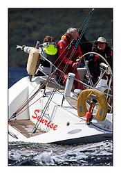 Brewin Dolphin Scottish Series 2011, Tarbert Loch Fyne - Yachting..GBR 4653T, Sunrise, Scott Chambers.