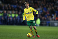 James Maddison of Norwich city in action.EFL Skybet championship match, Cardiff city v Norwich city at the Cardiff city stadium in Cardiff, South Wales on Friday 1st December 2017.<br /> pic by Andrew Orchard, Andrew Orchard sports photography.