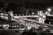 Dana Point Pedestrian Bridge at Night