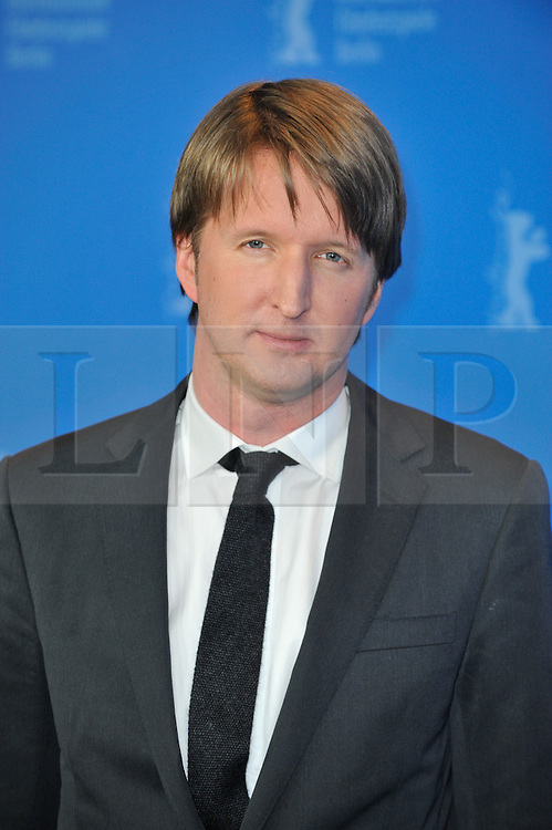 © licensed to London News Pictures. Tom Hooper, director of 'The Kings Speech' poses for photographs at the 61st Berlin Film Festival ahead of the Oscars in 10 days time where the movie hopes to win many awards including best actor for Firth and Best Movie. .Photo credit should read Theodore Wood/LNP