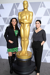 """Melissa Berton and Rayka Zehtabchi of the Oscar® nominated documentary short subject """"Period.  End of Sentence"""" prior to the Academy of Motion Picture Arts and Sciences' """"Oscar Week: Documentaries"""" event on Tuesday, February 19, 2019 at the Samuel Goldwyn Theater in Beverly Hills. The Oscars® will be presented on Sunday, February 24, 2019, at the Dolby Theatre® in Hollywood, CA and televised live by the ABC Television Network."""