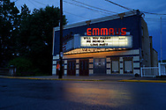 Emmaus Theatre is among about a dozen Southeastern Pennsylvania theaters built in the early 1900's that are still active. Opened in 1909, Emmaus Theatre has given community members the chance to pay for special personalized messages on what they've dubbed the Emmaus Theatre Community Marquee as a way to raise money during the COVID-19 pandemic which has seen a dramatic halting in business for the local theater in Emmaus, Pennsylvania. Emmaus Theatre is among about a dozen Southeastern Pennsylvania theaters built in the early 1900's that are still active. Opened in 1909, Emmaus Theatre has given community members the chance to pay for special personalized messages on what they've dubbed the Emmaus Theatre Community Marquee as a way to raise money during the COVID-19 pandemic which has seen a dramatic halting in business for the local theater in Emmaus, Pennsylvania.