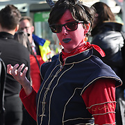 Excel London. 2021-10-24. Photo take with Nikon Z50 with Viltrox 56mm lens at MCM London Comic Con 2021, London, UK.