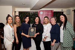 St Patricks University Hospital, Catering Department<br /> 1.Samantha Lanauze<br /> 2.Kieran Walsh<br /> 3.Eibhlin O'Leary. Training & Compliance Manager, Food Safety Authority of Ireland<br /> 4.Patricia Murphy<br /> 5.Shirley Neary<br /> 6.Eileen O'Hara<br /> 7.Lorraine Brennan