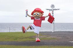 Sunny's tour of Scotland. At John O'Groats.