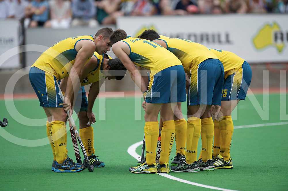 MELBOURNE - Champions Trophy men 2012<br /> India v Austalia <br /> foto: Penalty corner<br /> FFU PRESS AGENCY COPYRIGHT FRANK UIJLENBROEK