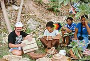 Basket Weaving, Vavau, Tonga