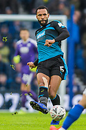 Kyle Bartley (West Brom) during the FA Cup fourth round match between Brighton and Hove Albion and West Bromwich Albion at the American Express Community Stadium, Brighton and Hove, England on 26 January 2019.