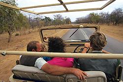 Driving To Kalambeza Finots's Camp