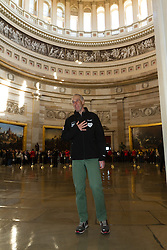 Gary Allen's Maine to DC run; day-after tour of the Capitol building