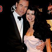 NLD/Amsterdam/20100304 - Premiere 4000ste aflevering Goede Tijden Slechte Tijden, Erik de Vogel en partner Caroline De Bruijn