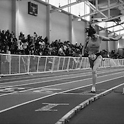 Phillipa Phil Raschker, 61, breaking a record at the 2008 USA Master's Indoor Track & Field Championships in Boston.