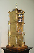 Monumental carillon clock, 1589.  This clock is based on the cathedral clock in Strasbourg, also made by Habrecht and still there today.  Every hour it plays music Vater Unser ('our Father') written by Martin Luther.