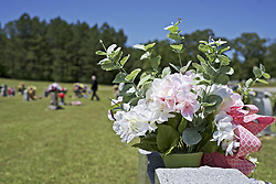 May 7, 2017 - Plenty of beautiful flowers to see at Decoration Day, Sunday, May 7th in Vernon, Alabama. This was at Furnace Hill Cemetery. (Credit Image: ©  via ZUMA Wire)