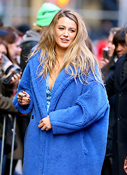 Actress Blake Lively is leaving the ABC studios in Times Square, New York, NY on January 28, 2020.<br /> Photo by Dylan Travis/ABACAPRESS.COM