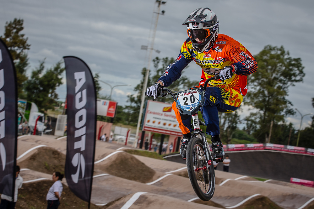 #20 (WHITFIELD Tyler) USA at the 2016 UCI BMX Supercross World Cup in Santiago del Estero, Argentina