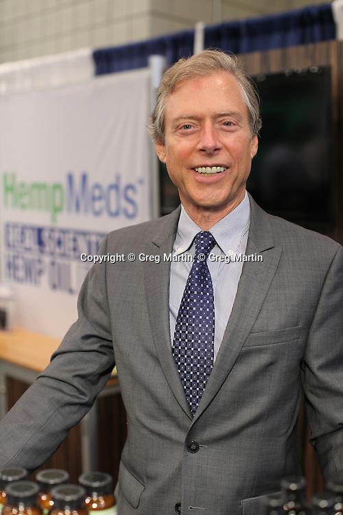 CWCBExpo NYC  Stuart Titus from Medical Marijuana, Inc.<br /> CWCBExpo NYC