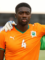 Photo: Steve Bond/Richard Lane Photography.<br />Ivory Coast v Benin. Africa Cup of Nations. 25/01/2008. Kolo Toure of Ivory Coast & Arsenal