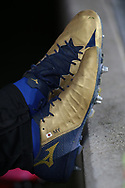 Maya Yoshida of Sampdoria's football boots during the Serie A match at Stadio Grande Torino, Turin. Picture date: 8th February 2020. Picture credit should read: Jonathan Moscrop/Sportimage