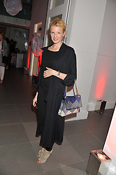 FIONA SCARRY at a party hosted by Ines de la Frassange and Bruno Frisoni for Roger Vivier to launch the Roger Vivier book held at The Saatchi Gallery, London on 24th April 2013.