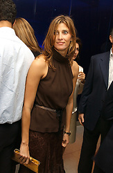 at a dinner hosted by Cartier to celebrate the opening of the 2004 Frieze Art Fair, held at Yauacha 15-17 Broadwick Street, London W1 on 13th October 2004.<br /><br />NON EXCLUSIVE - WORLD RIGHTS