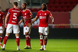 Kasey Palmer of Bristol City looks on as his goal is disallowed - Rogan/JMP - 16/09/2020 - Ashton Gate Stadium - Bristol, England - Bristol City v Northampton Town - Carabao Cup Second Round.