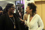 NEW YORK, NY-NOVEMBER 18:  (L-R) Tiffany Warren, SVP, Omicron and Founder, ADCOLOR and Valeisha Butterfield Jones, Founder & CEO, WEEN attends the 5th Annual W.E.E.N Awards held at the The Schomburg Center for Research in Black Culture on November 18, 2015 in Harlem, New York City.  (Terrence Jennings/terrencejennings.com)