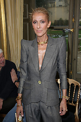 Celine Dion at the Ronald van der Kemp show as part of Paris Haute Couture Fashion Week Spring/Summer 2019-2020 on January 23, 2019 in Paris, France. Photo by Jerome Domine/ABACAPRESS.COM