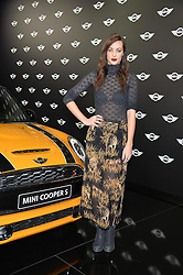 Monday 18th November 2013 saw a host of London hipsters, social faces and celebrities, gather together for the much-anticipated World Premiere of the brand new MINI.<br /> Attendees were among the very first in the world to see and experience the new MINI, exclusively revealed to guests during the party. Taking place in the iconic London venue of the Old Sorting Office, 21-31 New Oxford Street, London guests enjoyed a DJ set from Little Dragon, before enjoying an exciting live performance from British band Fenech-Soler.<br /> Picture Shows:-EMILY HARTRIDGE