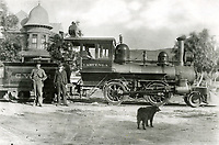 1893 Cahuenga Valley Railroad in Hollywood