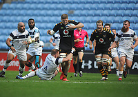 Rugby Union - 2019 / 2020 Gallagher Premiership - Semi-final - Wasps  vs Bristol Bears - Ricoh Stadium<br /> <br /> Jack Willis of Wasps on the charge<br /> <br /> COLORSPORT/ANDREW COWIE