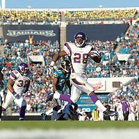 2008 Vikings vs Jacksonville Jaguars at The Metropolitan Stadium in Jacksonville, Florida, on November 23, 2008.  Vikings beat the Jacksonville Jaguars 30-12.  First time playing at this stadium.