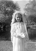 For Deidre and Leslie Luke 1st holy communion 1st June 1954, 1-6-1954