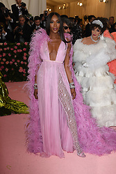 Naomi Campbell attends The 2019 Met Gala Celebrating Camp: Notes on Fashion at Metropolitan Museum of Art on May 06, 2019 in New York City.<br /> Photo by ABACAPRESS.COM
