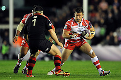 - Photo mandatory by-line: Patrick Khachfe/JMP - Mobile: 07966 386802 01/05/2015 - SPORT - RUGBY UNION - London - The Twickenham Stoop - Edinburgh Rugby v Gloucester Rugby - European Rugby Challenge Cup Final