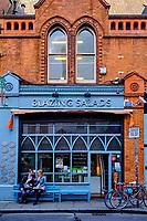 République d'Irlande, Dublin, quartier de Temple Bar, restaurant à Drury street // Republic of Ireland; Dublin, the touristic Temple Bar area, restaurant at Drury street