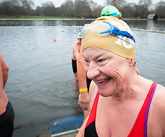 Christmas Day Swim Serpentine 25th Dec 2018